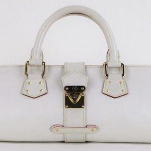 Louis Vuitton Ivory Leather L'epanoui PM H…